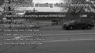 Dollar General shooting victim recalls ordeal