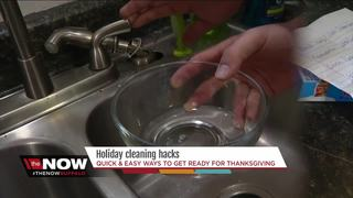 Thanksgiving cleaning hacks