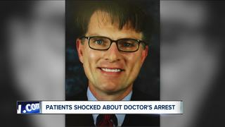 Patient shocked to hear Dr. Biddle arrested