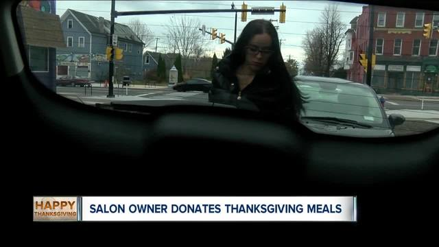 Salon owner gives back to those in need