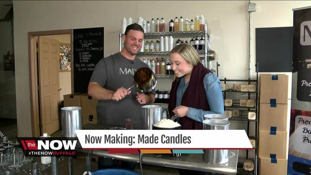 Now Making- MADE Candles