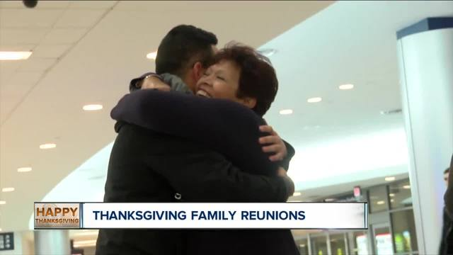 Families reunite for Thanksgiving