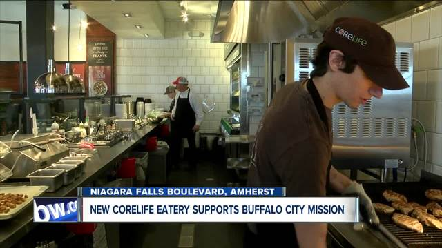 CoreLife Eatery teams up with Buffalo City Mission for soft opening of…