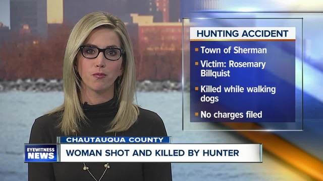 Deputies- woman dies after hunting accident