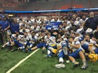 West Seneca West football team wins State title