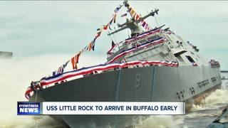 New USS Little Rock arriving Monday