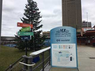 Canalside ice rink closes for the season