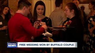 Lucky couple wins a 20K wedding
