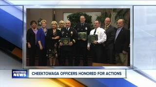 Police honored after Dollar General shooting