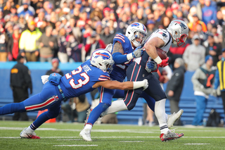 Bills shut down by Patriots in 23-3 loss
