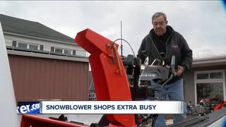 Have you checked your snowblower? Many have not