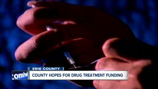 Erie County hopes for drug treatment funding