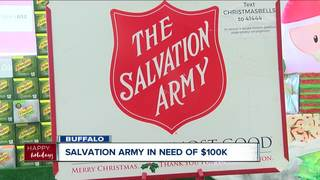 Salvation Army of Buffalo needs $100,000