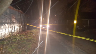 Falls police looking for overnight alley shooter