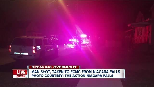 Man shot in Niagara Falls taken to ECMC