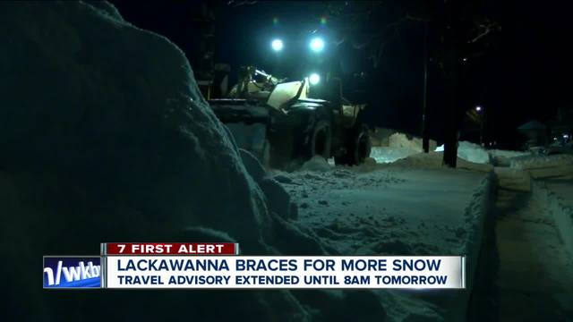 Lackawanna continues to dig out