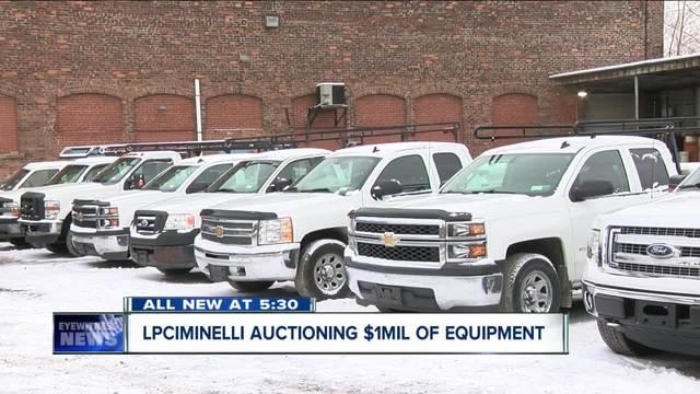LPCiminelli auctioning a million dollars worth of equipment