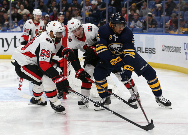 Senators wind up road trip in Buffalo