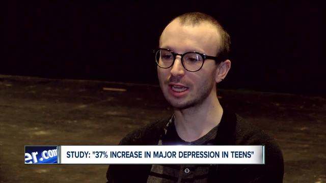 New study- serious rise in teen depression