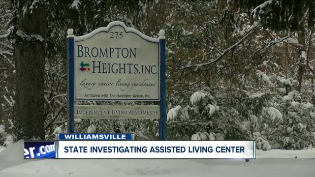 State investigating Williamsville assisted living facility