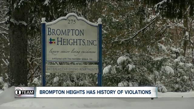 I-Team- Brompton Heights has history of violations
