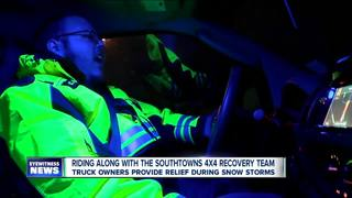 Truck owners provide help during snow storms