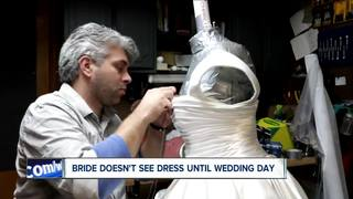 WNY Groom makes bride's dress
