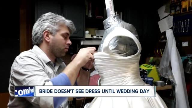 WNY Groom makes bride-s dress