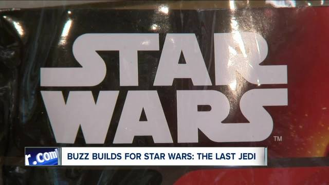 Fans excited for new Star Wars movie