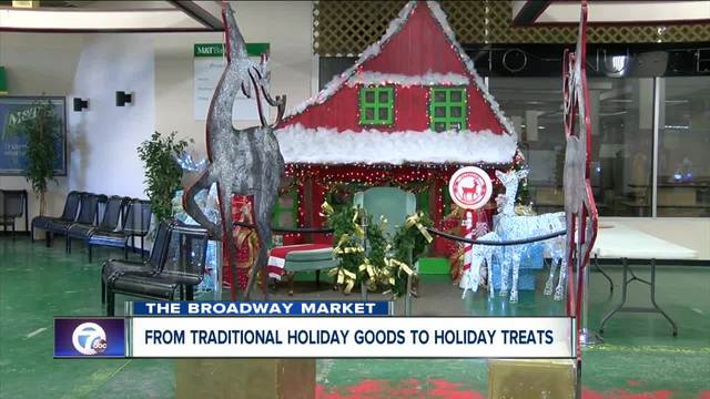 The Broadway Market gears up for the holiday season