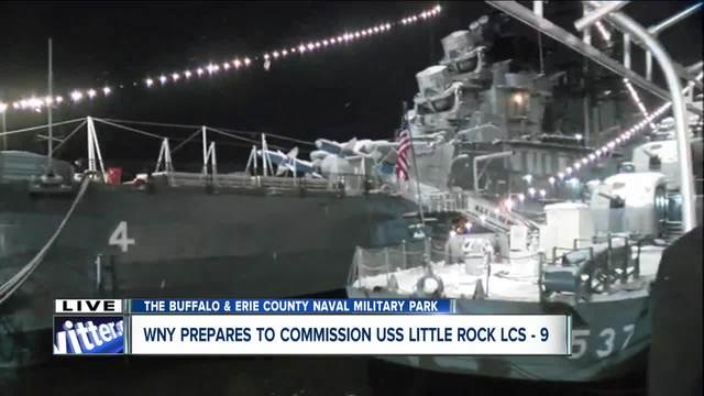 USS Little Rock Association gears up for special ceremony ahead of…