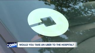 Would you take an Uber to the hospital?