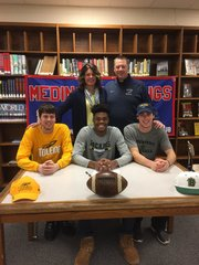 Medina's Jalin Cooper headed to the MAC,...