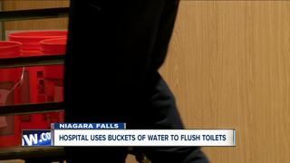 Water main break impacts Niagara Falls hospital