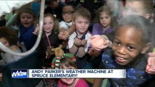 Andy Parker's Weather Machine visits Spruce...