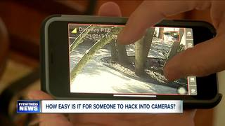 How easy is it for someone to hack into cameras?