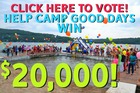 Camp Good Days in running to win $20,000