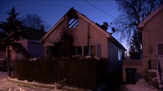 Fire forces five out of Clare Street home