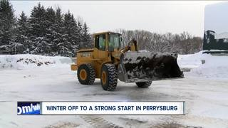 Winter off to a strong start in Perrysburg