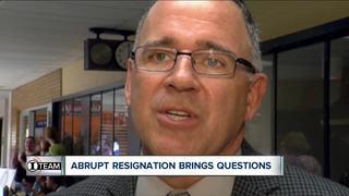 I-Team: Commish's resignation raises questions