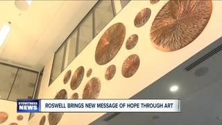 Cancer survivor designs logo for Roswell Park
