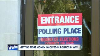 Getting more women involved in WNY politics