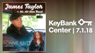James Taylor and Bonnie Raitt to Buffalo