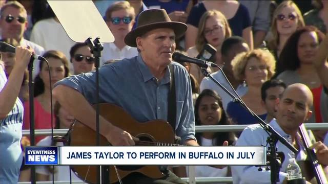 James Taylor and Bonnie Raitt to perform in Buffalo