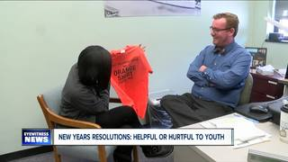Are New Years Resolutions healthy for youth?