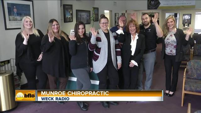 WECK Radio Built in Buffalo Munroe Chiropractic
