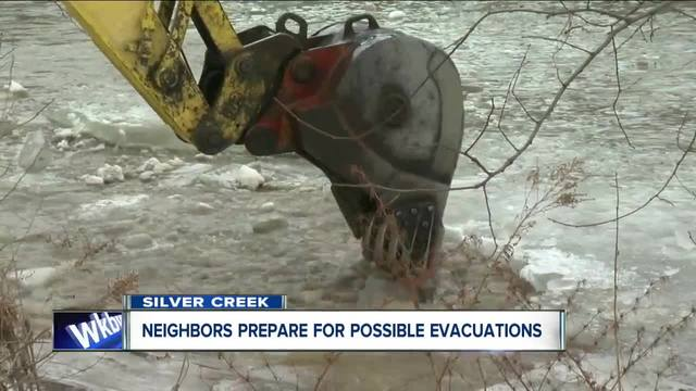Flooding impacting travel in Silver Creek