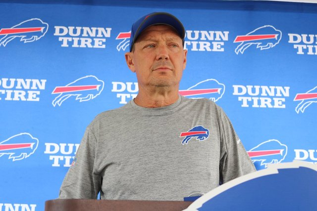 Bills fire offensive coordinator Rick Dennison after one season