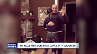 Jim Kelly's prayers for daughter's wedding