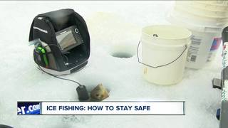 Ice fishing: how to stay safe